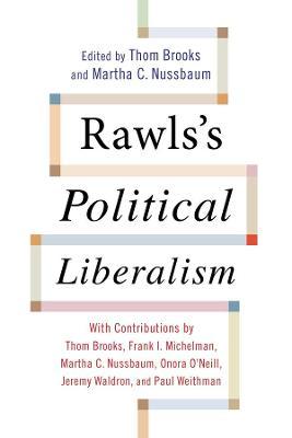 Rawls's Political Liberalism book