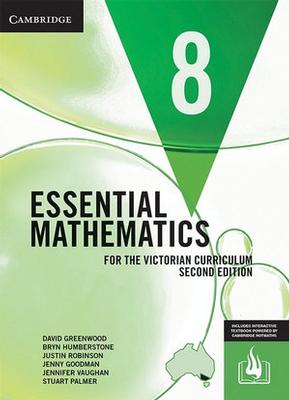 Essential Mathematics for the Victorian Curriculum Year 8 by David Greenwood