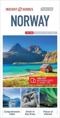 Insight Guides Travel Map Norway by