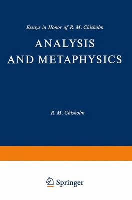 Analysis and Metaphysics by Keith Lehrer