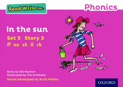 Read Write Inc. Phonics: Pink Set 3 Storybook 3 In the Sun book