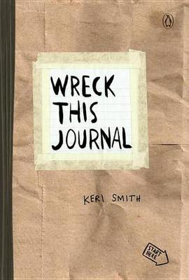 Wreck This Journal (Paper Bag) book