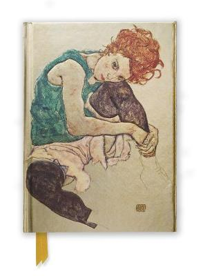 Egon Schiele: Seated Woman (Foiled Journal) by Flame Tree Studio