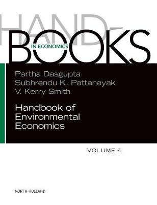 Handbook of Environmental Economics by Partha Dasgupta