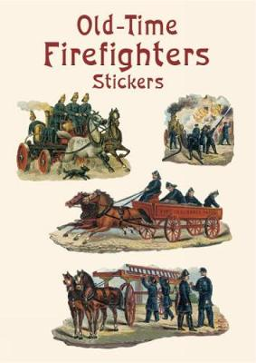 Old-Time Firefighters Stickers book