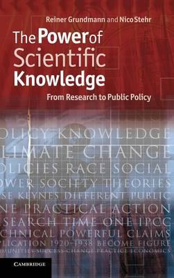 Power of Scientific Knowledge by Reiner Grundmann