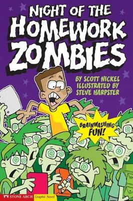 Night of the Homework Zombies book