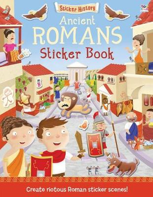 Ancient Romans Sticker Book by Joshua George
