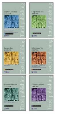 Core Tax Annuals Full Set: 2007-2008 book