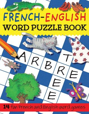 French-English Word Puzzle Book by Catherine Bruzzone