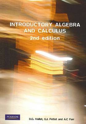 Introductory Algebra and Calculus (Pearson Original Edition) by Dann Mallet