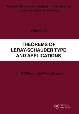Theorems of Leray-Schauder Type And Applications book