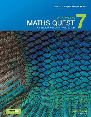 Jacaranda Maths Quest 7 Australian Curriculum 3E LearnON & Print by Catherine Smith