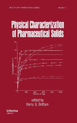 Physical Characterization of Pharmaceutical Solids by Harry G. Brittain