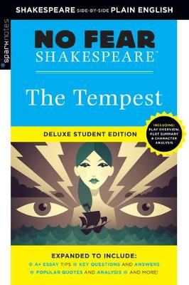 Tempest: No Fear Shakespeare Deluxe Student Edition by Sparknotes