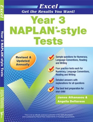 Year 3 NAPLAN-style Tests book