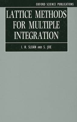Lattice Methods for Multiple Integration book