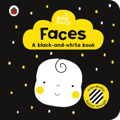 Baby Touch: Faces: a black-and white-book book