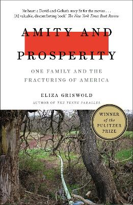 Amity and Prosperity: One Family and the Fracturing of America - Winner of the Pulitzer Prize for Non-Fiction 2019 by Eliza Griswold