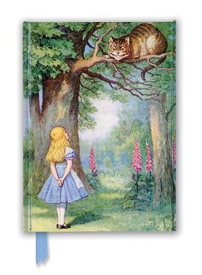 John Tenniel: Alice and the Cheshire Cat (Foiled Journal) by Flame Tree Studio