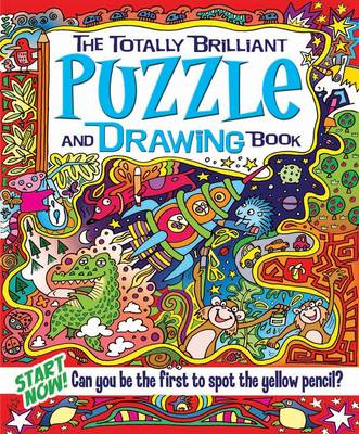 The Totally Brilliant Puzzle and Drawing Book by Lisa Regan