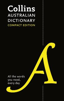 Collins Australian Compact Dictionary by
