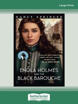 Enola Holmes and the Black Barouche: Enola Holmes 7 by Nancy Springer