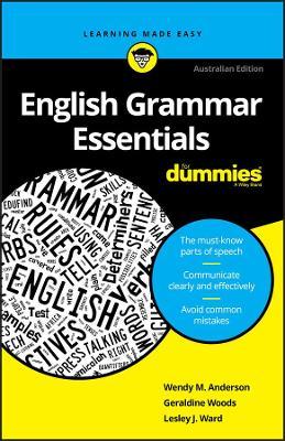 English Grammar Essentials For Dummies book