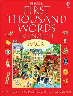First Thousand Words In English Pack by Various