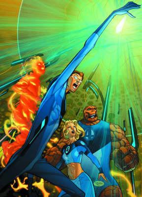 Ultimate Fantastic Four Vol.4 by Pasqual Ferry