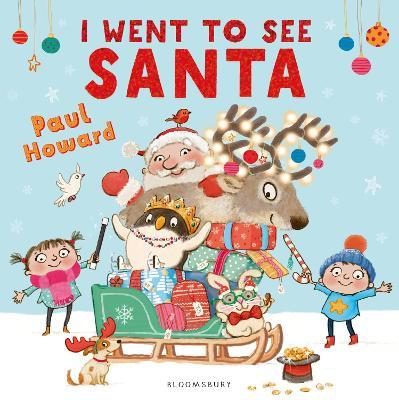I Went to See Santa book