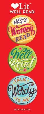 Well Read 3 Badge Set by Smith Gibbs