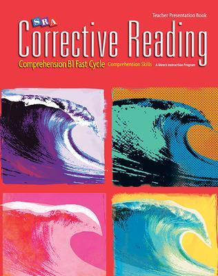 Corrective Reading Fast Cycle B1, Presentation Book book