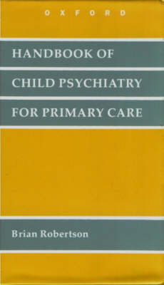 Handbook of Child Psychiatry for Primary Care book