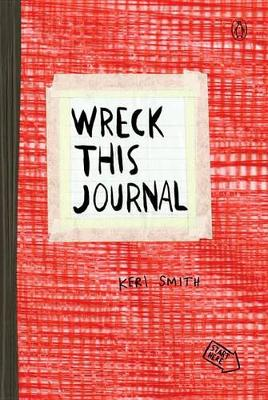 Wreck This Journal (Red) book