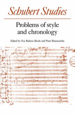 Schubert Studies book