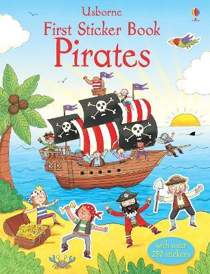 First Sticker Book Pirates book