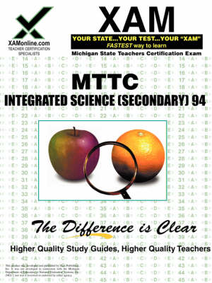 Mttc Integrated Science (Secondary) 94 Teacher Certification Test Prep Study Guide by Sharon A Wynne