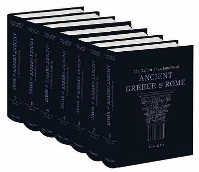 Oxford Encyclopedia of Ancient Greece and Rome: The Oxford Encyclopedia of Ancient Greece and Rome by Michael Gagarin