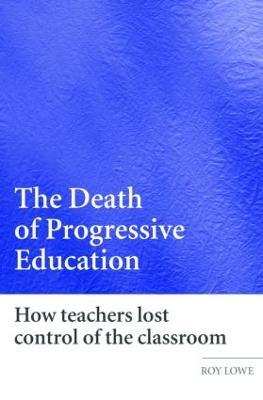 Death of Progressive Education book