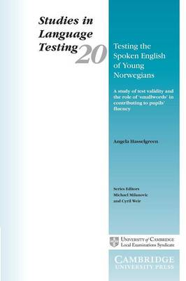 Testing the Spoken English of Young Norwegians book