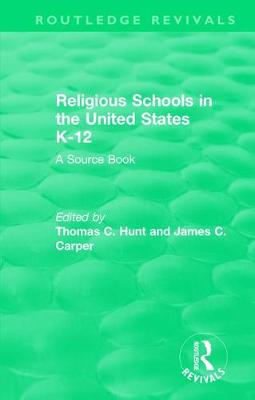 Religious Schools in the United States K-12 (1993) book