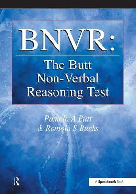 BNVR: The Butt Non-Verbal Reasoning Test by Pamela Butt