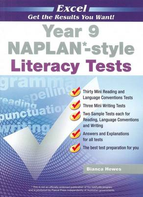 NAPLAN-style Literacy Tests: Year 9 by Bianca Hewes