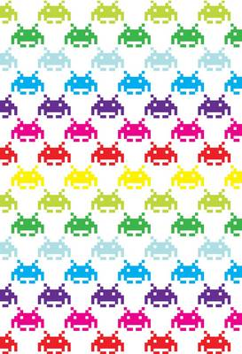 Space Invaders Mini Notebooks by Hardie Grant Books