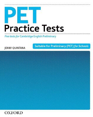 PET Practice Tests:: Practice Tests Without Key by Jenny Quintana
