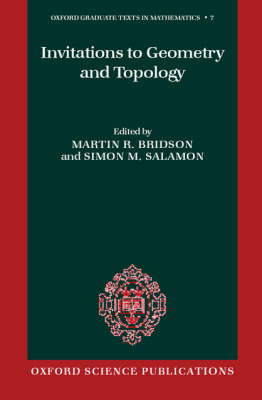 Invitations to Geometry and Topology book