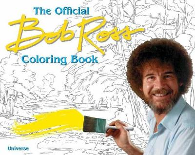Bob Ross Coloring Book book