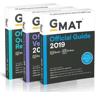 GMAT Official Guide 2019 Bundle by GMAC (Graduate Management Admission Council)