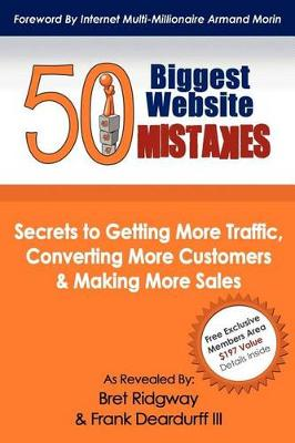 50 Biggest Website Mistakes by Bret Ridgway